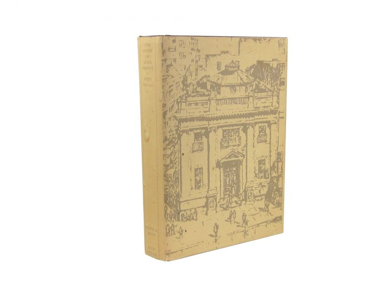 The Story of Alex. Brown & Sons: 1800-1975 [Limited Edition]. Frank R. Kent, Louis Azrael.
