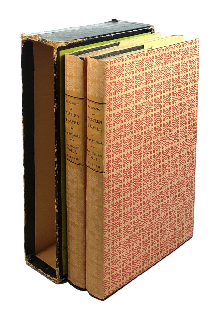 Retrospect of Western Travel (2 Volumes). Harriet Martineau.