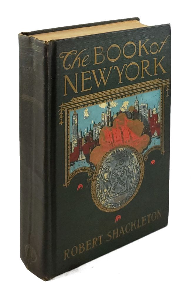 The Book of New York. Robert Shackleton.
