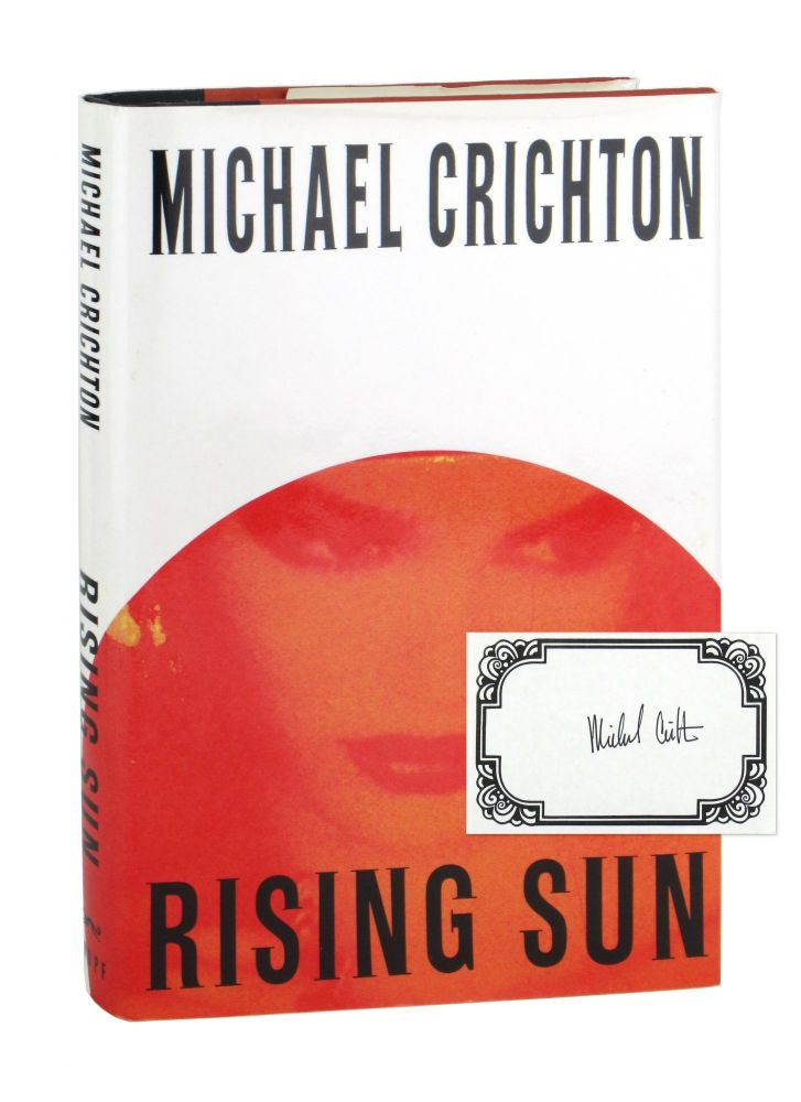 Rising Sun [Signed Bookplate Laid in]. Michael Crichton.