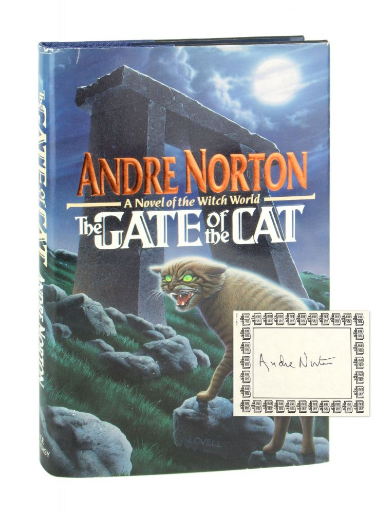 The Gate of the Cat [Signed Bookplate Laid in]. Andre Norton.