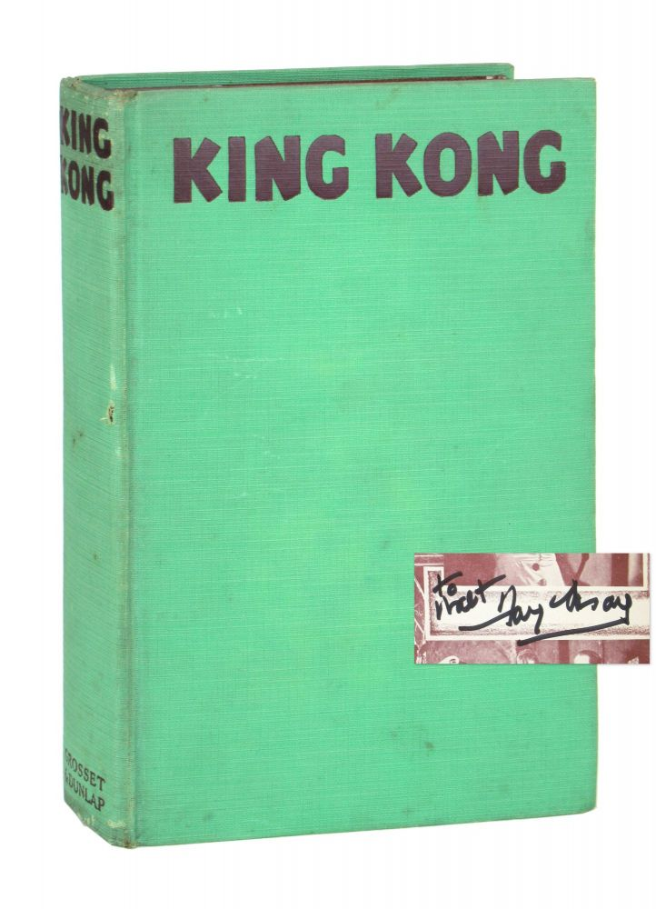King Kong [Photoplay Edition; Signed by Fay Wray]. Delos W. Lovelace, Edgar Wallace, Merian C. Cooper, novelization, story.