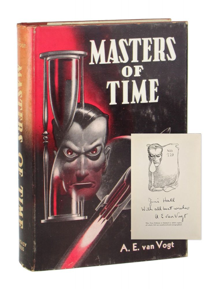 Masters of Time [Limited Edition, Inscribed and Signed]. A E. van Vogt, Edd Cartier.