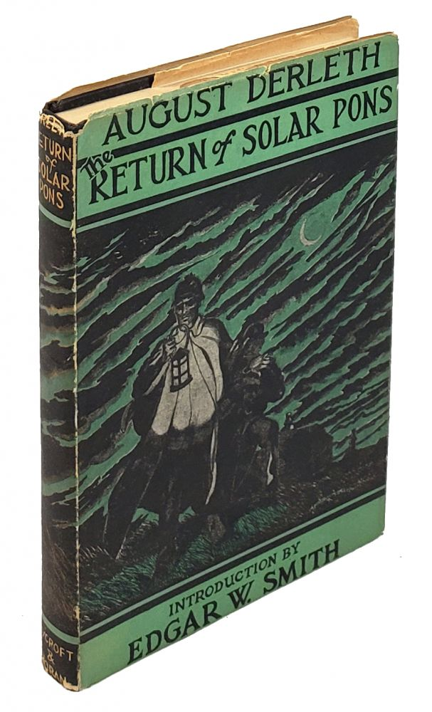 The Return of Solar Pons. August Derleth, Frank Utpatel.