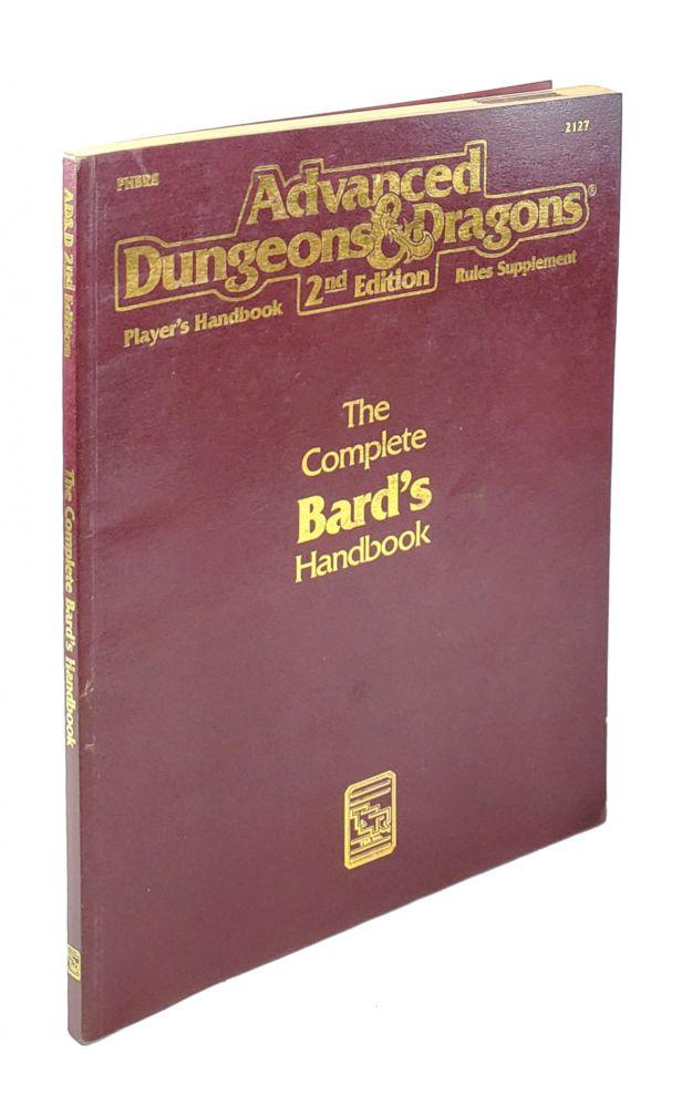 The Complete Bard's Handbook (Advanced Dungeons & Dragons Player's Handbook Rules Supplement - PHBR8). Blake Mobley.