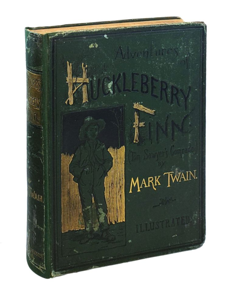 Adventures of Huckleberry Finn (Tom Sawyer's Companion). Mark Twain.