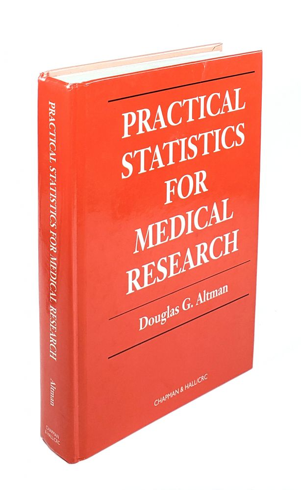 Practical Statistics for Medical Research. Douglas G. Altman.