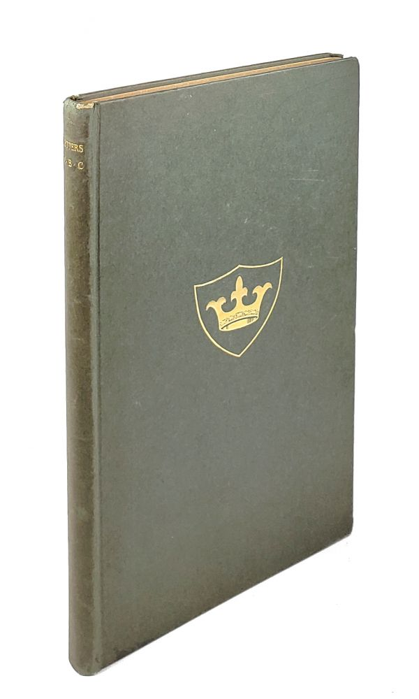 Letters of Mary Boardman Crowninshield. Mary Boardman Crowninshield, Francis Boardman Crowninshield, ed.