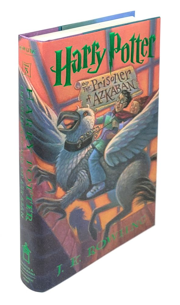 Harry Potter and the Prisoner of Azkaban [Signed]. J K. Rowling.