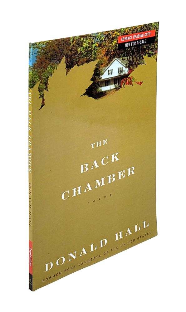 The Back Chamber. Donald Hall.