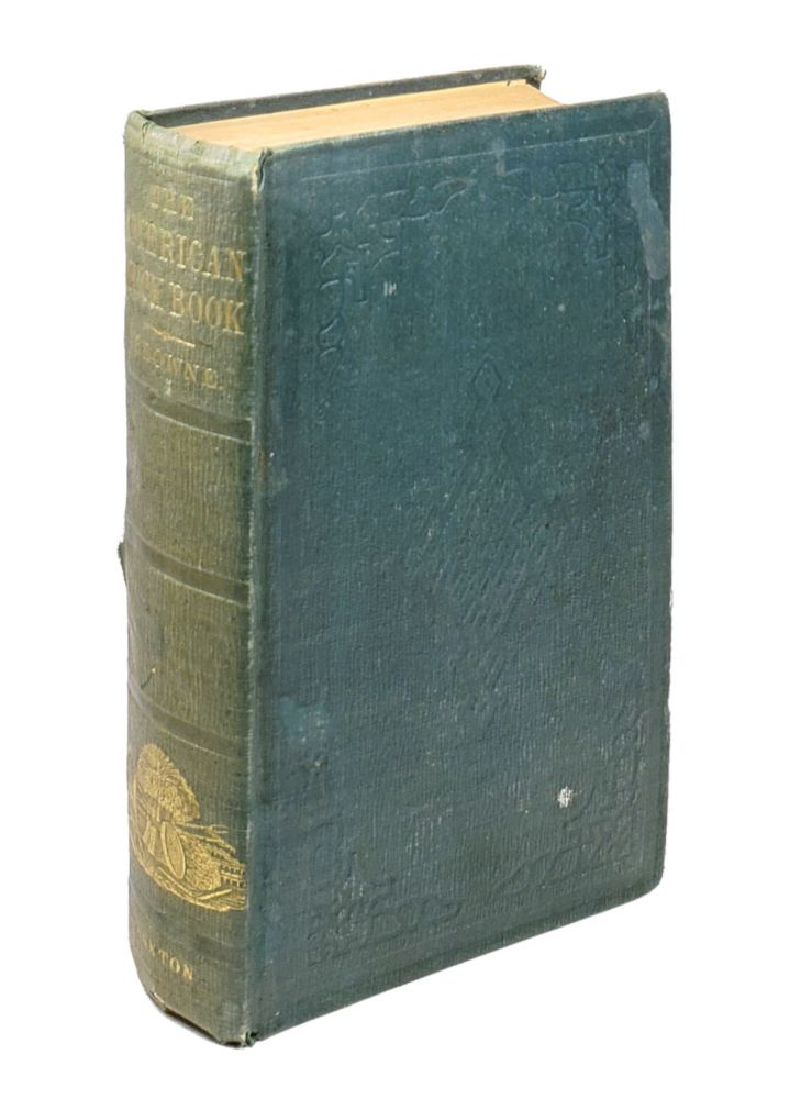 The American Muck Book; Treating of the Nature, Properties, Sources, History, and Operations of all the Principal Fertilisers and Manures. D J. Browne.