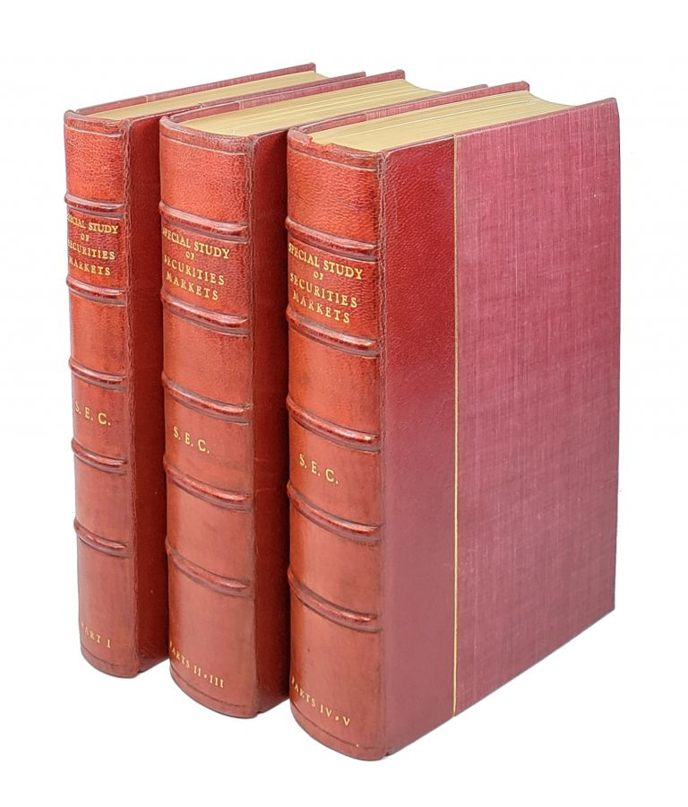 Report of Special Study of Securities Markets of the Securities and Exchange Commission [Five Volumes Bound in Three. William L. Cary, Chair.