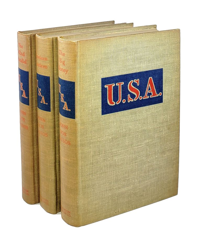 U.S.A. Trilogy (The 42nd Parallel, Nineteen Nineteen, The Big Money). John Dos Passos.
