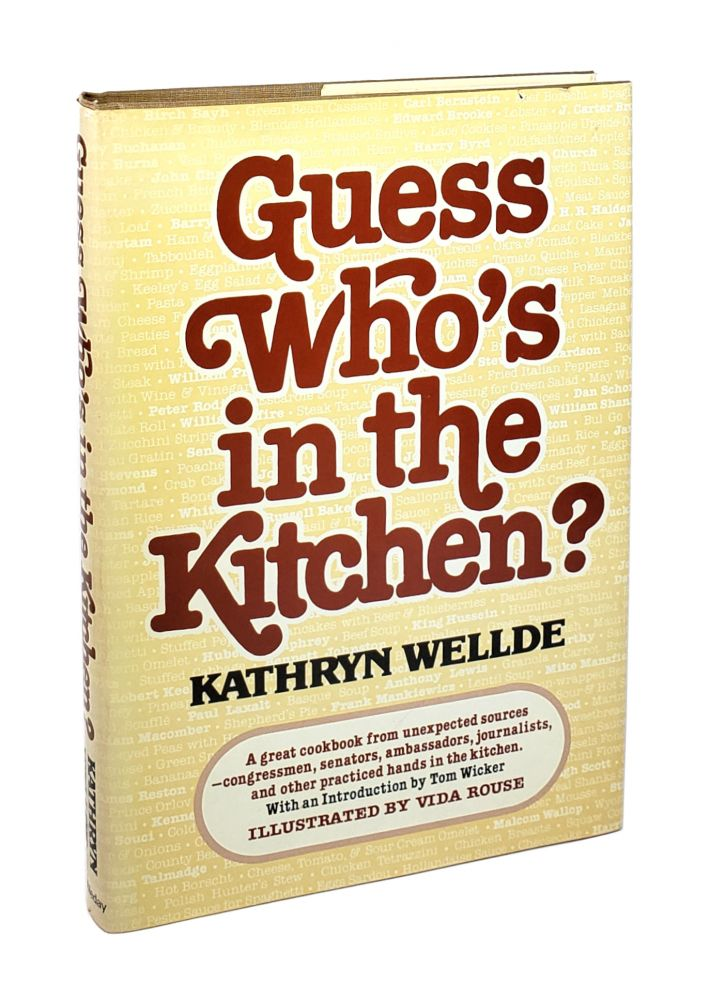 Guess Who's in the Kitchen. Kathry Wellde.