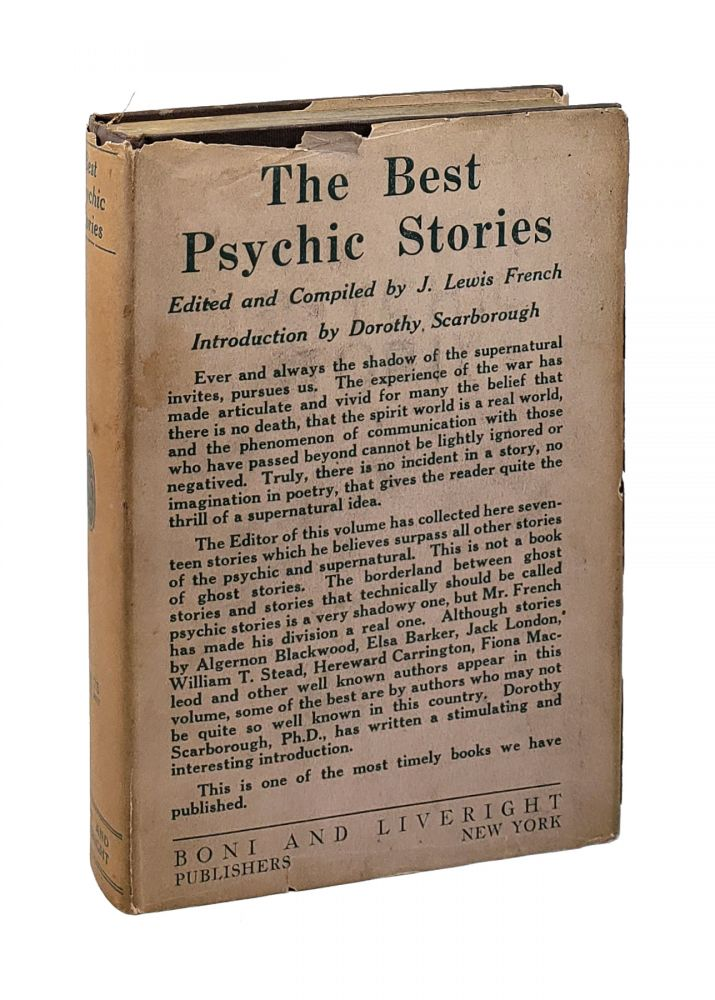 The Best Psychic Stories. J. Lewis French, Dorothy Scarborough