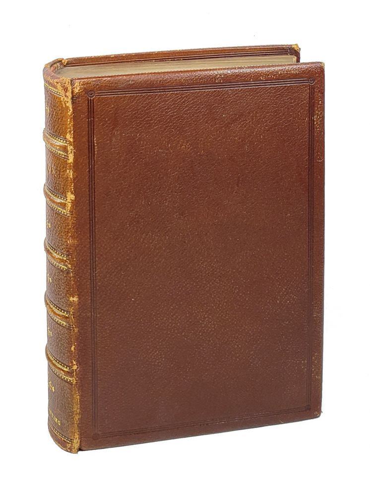 """The Poetical Works of John Milton, With Introductory Memoir Notes, Bibliography Etc. - The """"Albion"""" Edition [Erotic Fore-Edge Painting]. John Milton."""