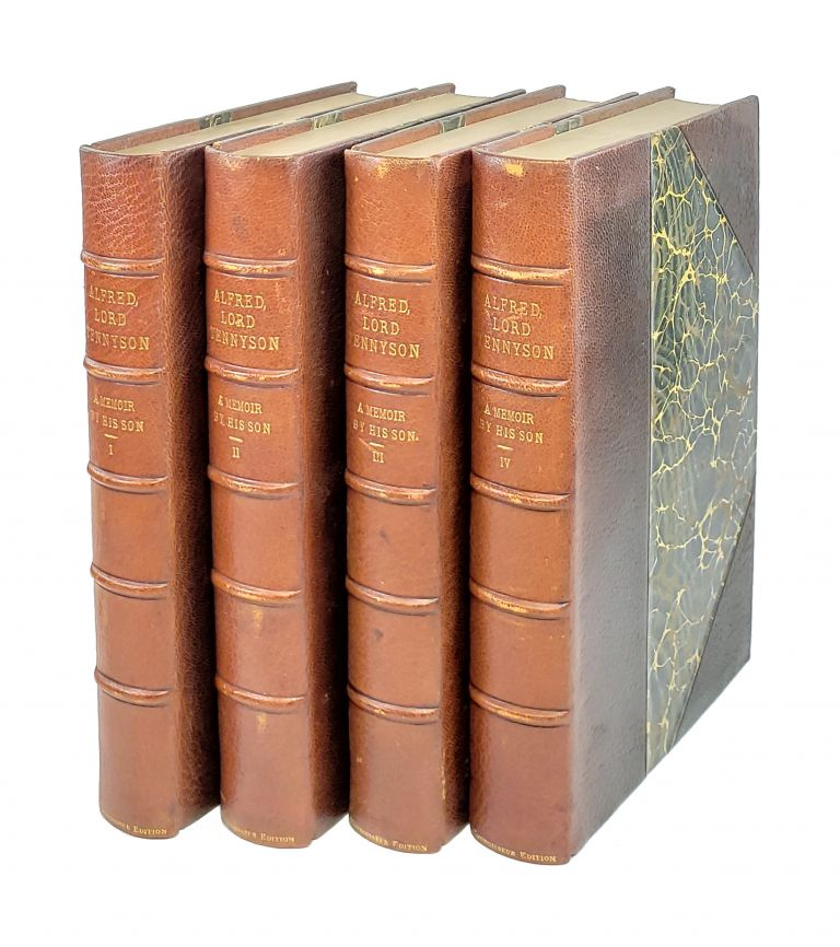 Alfred Lord Tennyson: A Memoir by His Son [Four Volumes]. Hallam Tennyson.
