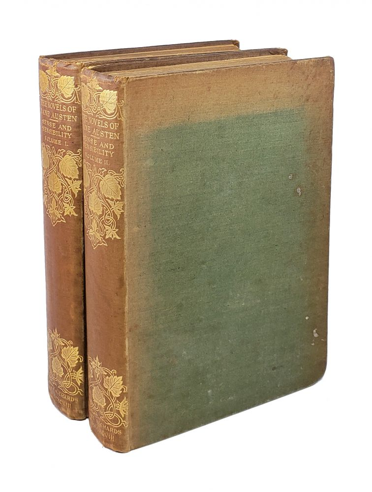 Sense and Sensibility [Two Volumes]. Jane Austen.