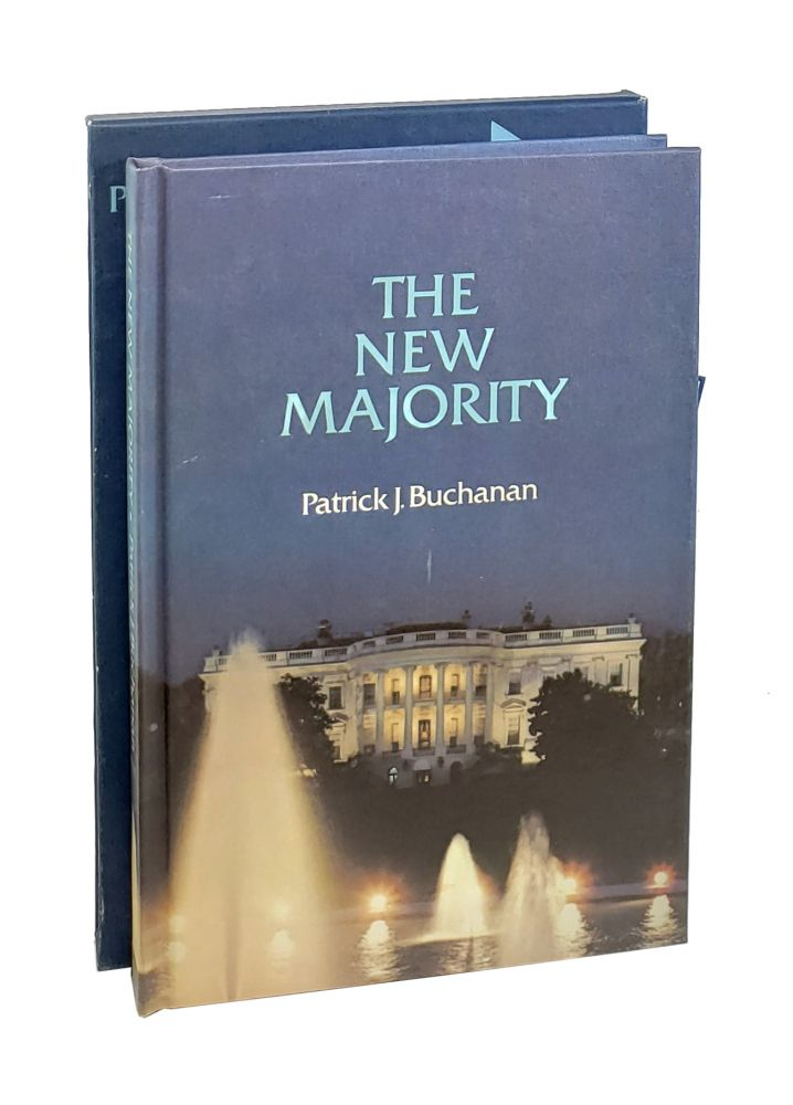 The New Majority: President Nixon at Mid-passage [Signed with ALS to William Safire]. Patrick Buchanan.