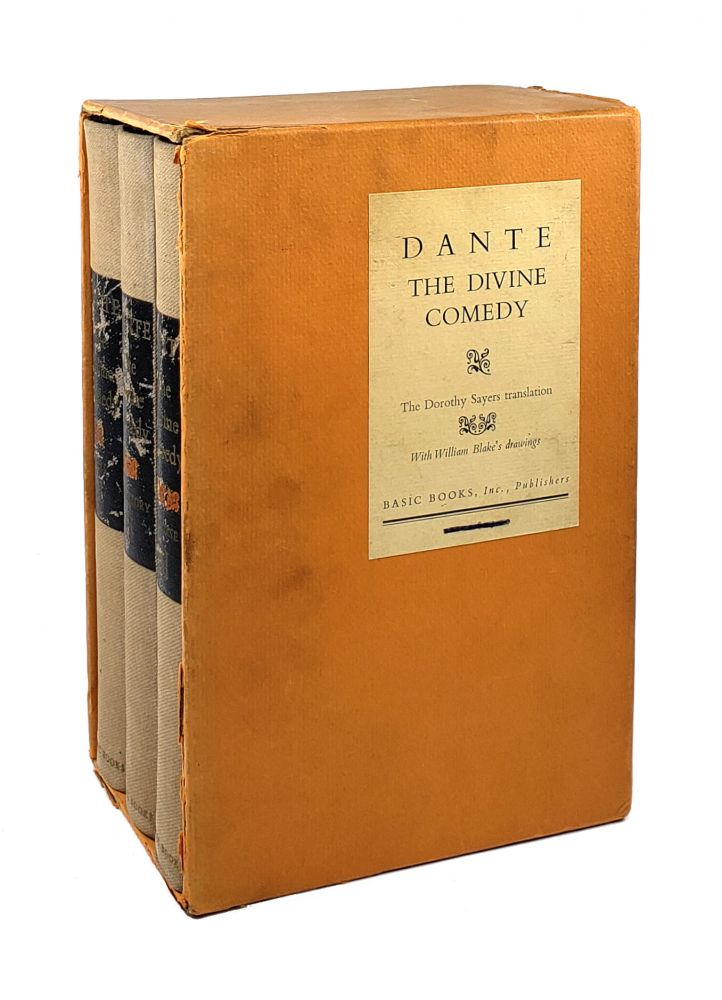 The Comedy of Dante Alighieri the Florentine [3 Volumes in Slipcase]. Dante Alighieri, Dorothy Sayers, William Blake, trans.