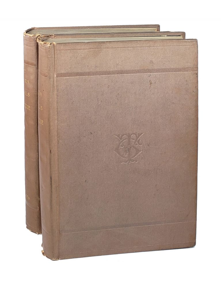 Life, Letters, and Journals of George Ticknor [Two Volumes]. George Ticknor, George Hillard, Anna Ticknor, ed.