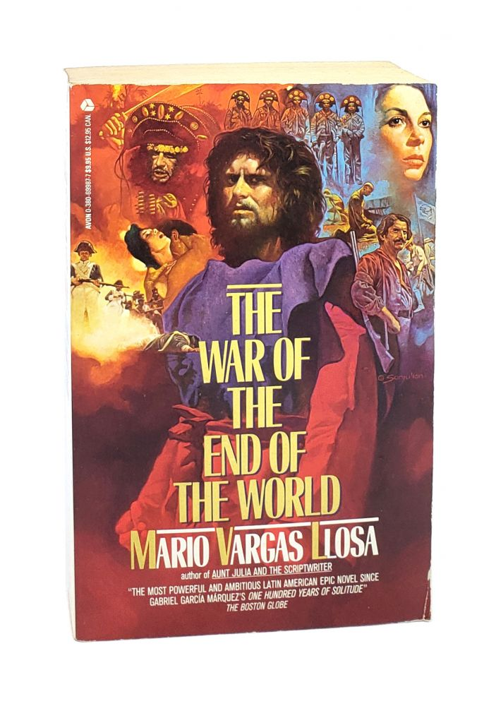 The War of the End of the World [Signed]. Mario Vargas Llosa.