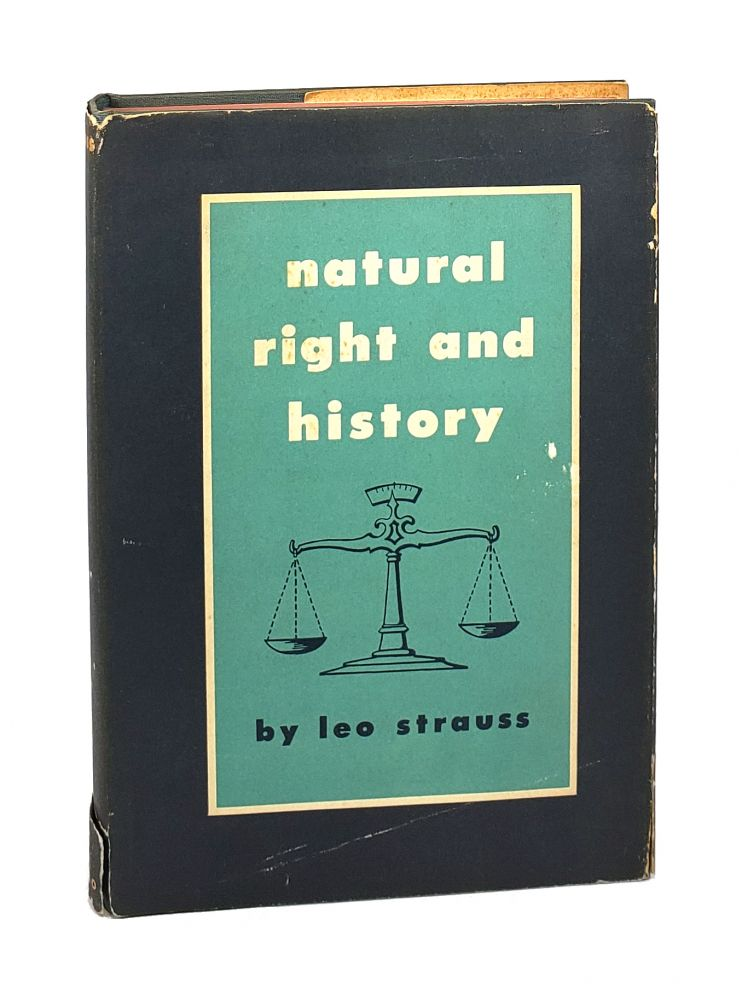 Natural Right and History. Leo Strauss.