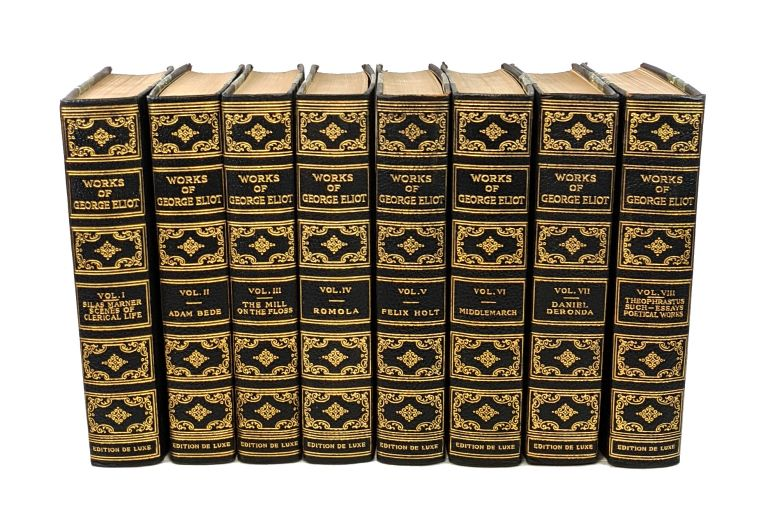 The Works of George Eliot (Eight Volumes). George Eliot, Mary Ann Evans.