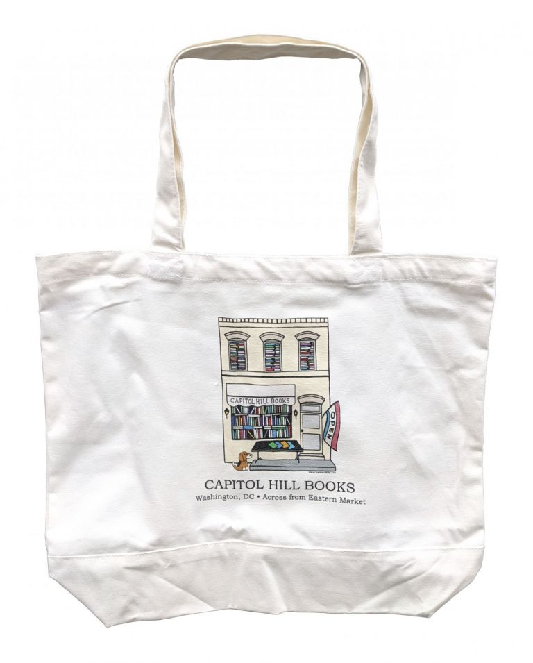 Capitol Hill Books Tote Bag [Large]
