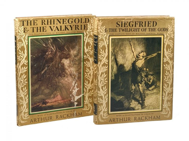 The Rhinegold & The Valkyrie; Siegfried & The Twilight of the Gods [Two Volumes]. Richard Wagner, Arthur Rackham, Margaret Armour, trans.