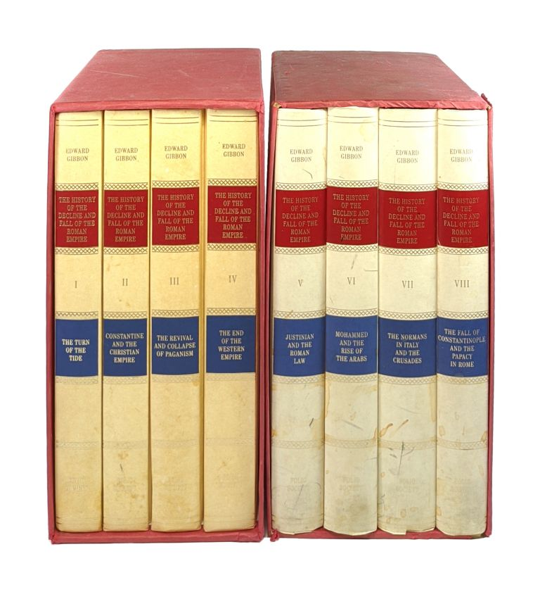 The History of the Decline and Fall of the Roman Empire [Eight Volumes Complete]. Edward Gibbon, Betty Radice, ed.