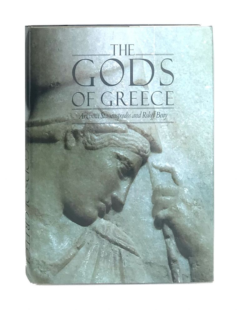 The Gods of Greece [Signed and with ALS to William Safire]. Arianna Stassinopoulos, Roloff Beny, Huffington, photo.