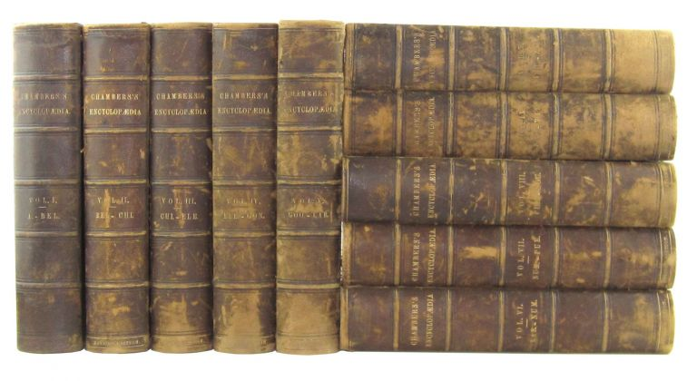 Chambers's Encyclopaedia: A Dictionary of Universal Knowledge For The People [Ten Volumes Complete]