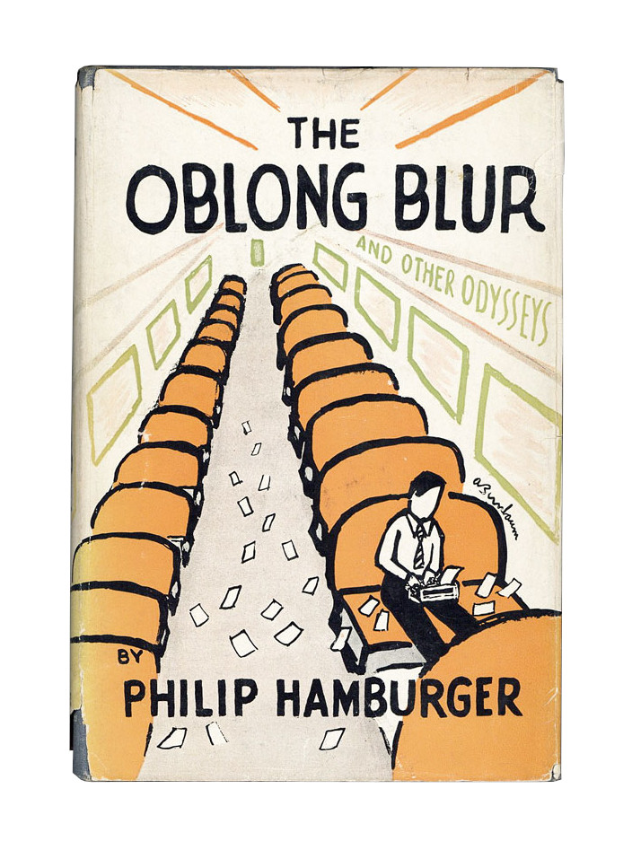 The Oblong Blur and Other Odysseys. Philip Hamburger.