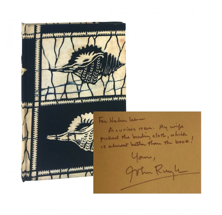 Gastropods and Other Poems [Limited Edition, Inscribed and Signed]. John Ruyle.