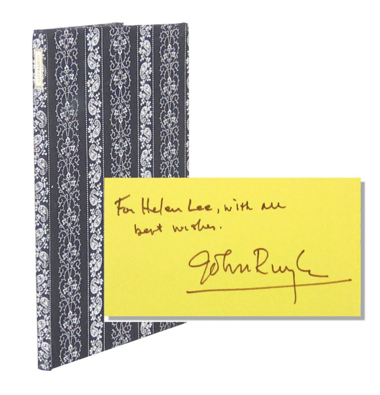 Contrasts and Other Poems [Limited Edition, Inscribed and Signed]. John Ruyle.