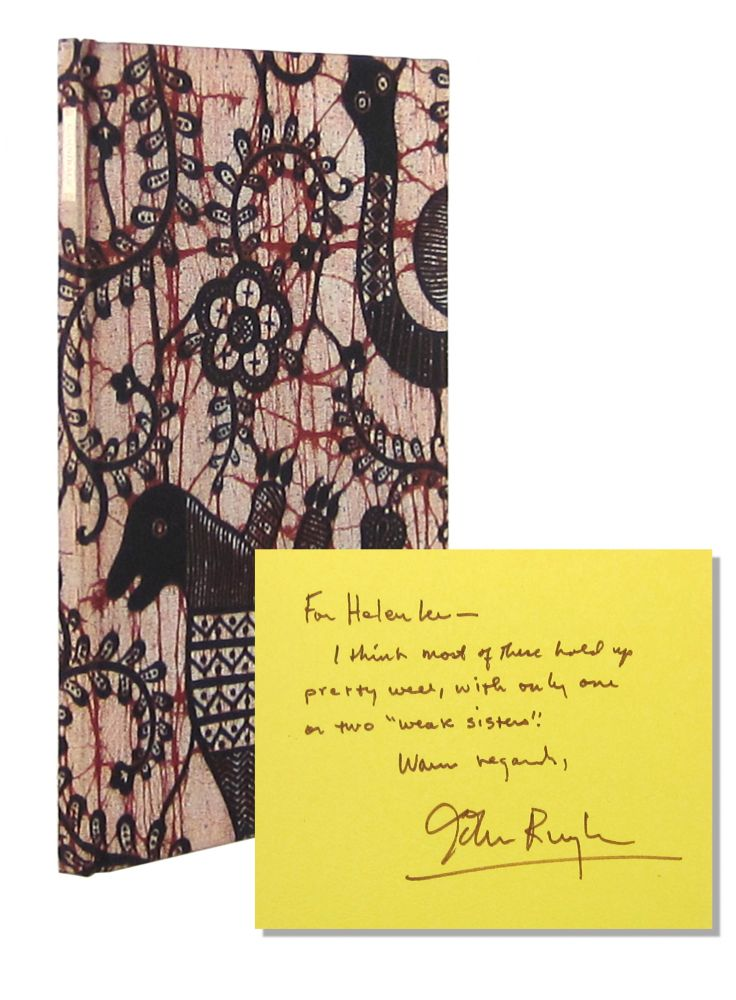 Cannibals and Other Poems [Limited Edition, Inscribed and Signed]. John Ruyle.