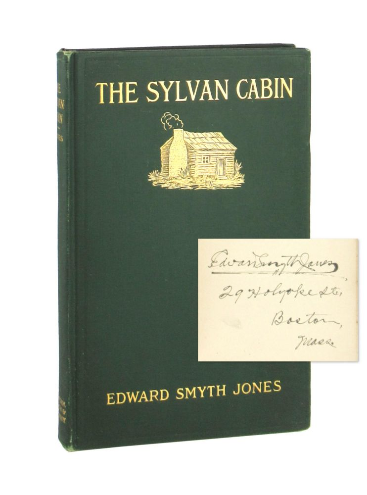 The Sylvan Cabin: A Centenary Ode on the Birth of Lincoln and Other Verse [Signed]. Edward Smyth Jones, William Stanley Braithwaite, intro.
