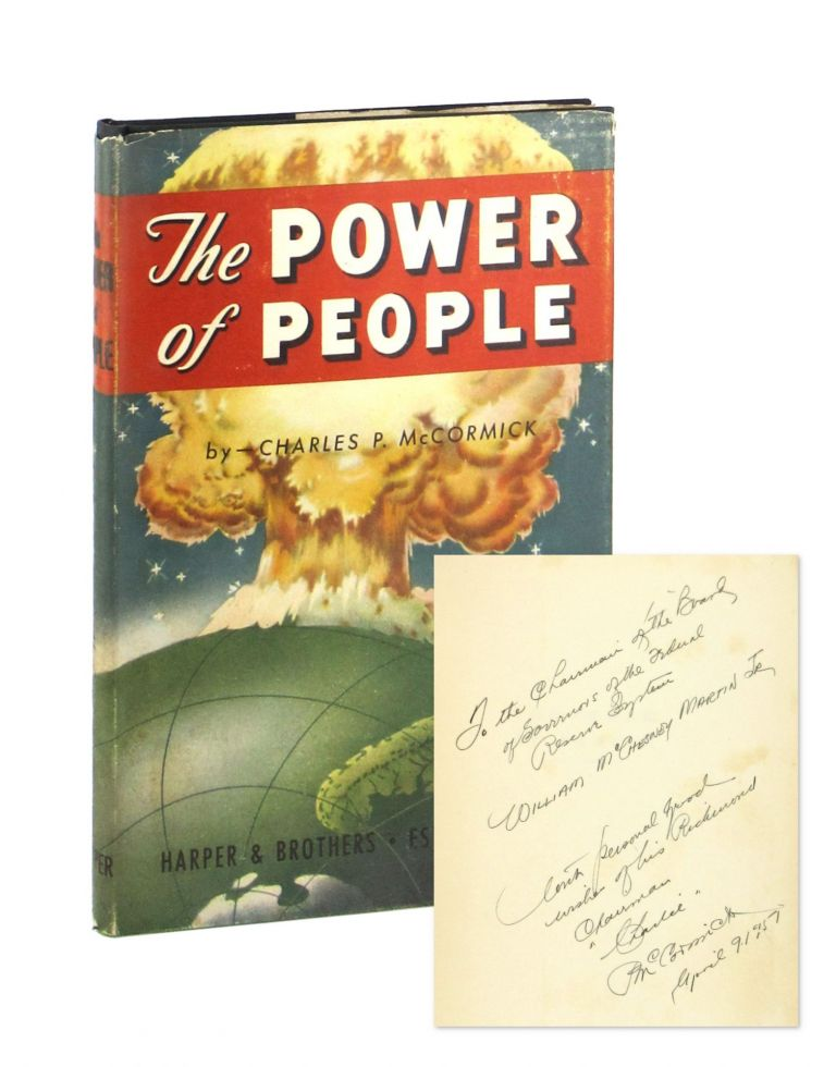 The Power of People: Multiple Management Up to Date [Inscribed to William McChesney Martin]. Charles P. McCormick.