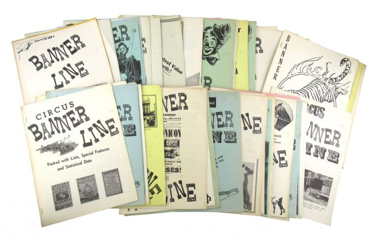 Banner Line [Collection of 42 Issues]. Van Matre, ed.