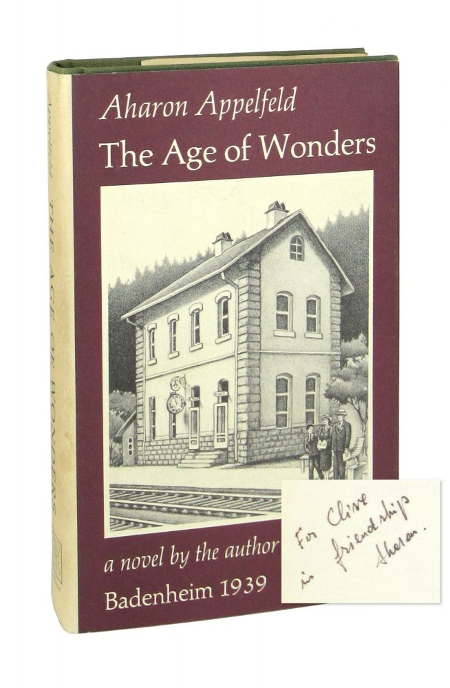 The Age of Wonders [Signed]. Aharon Appelfeld, Dayla Bilu, trans.