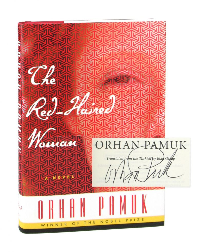 The Red-Haired Woman [Signed and Dated by the Author]. Orhan Pamuk, Ekin Oklap, Chip Kidd, trans., jacket design.