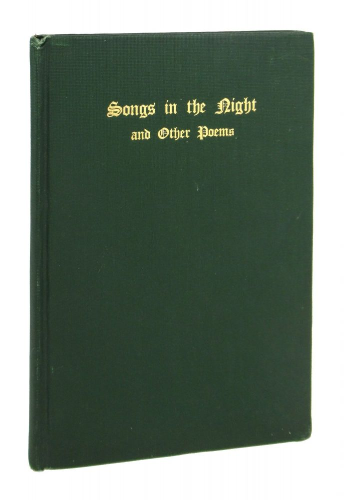 Songs in the Night and Other Poems. James B. Durand, Silas H. Durand.