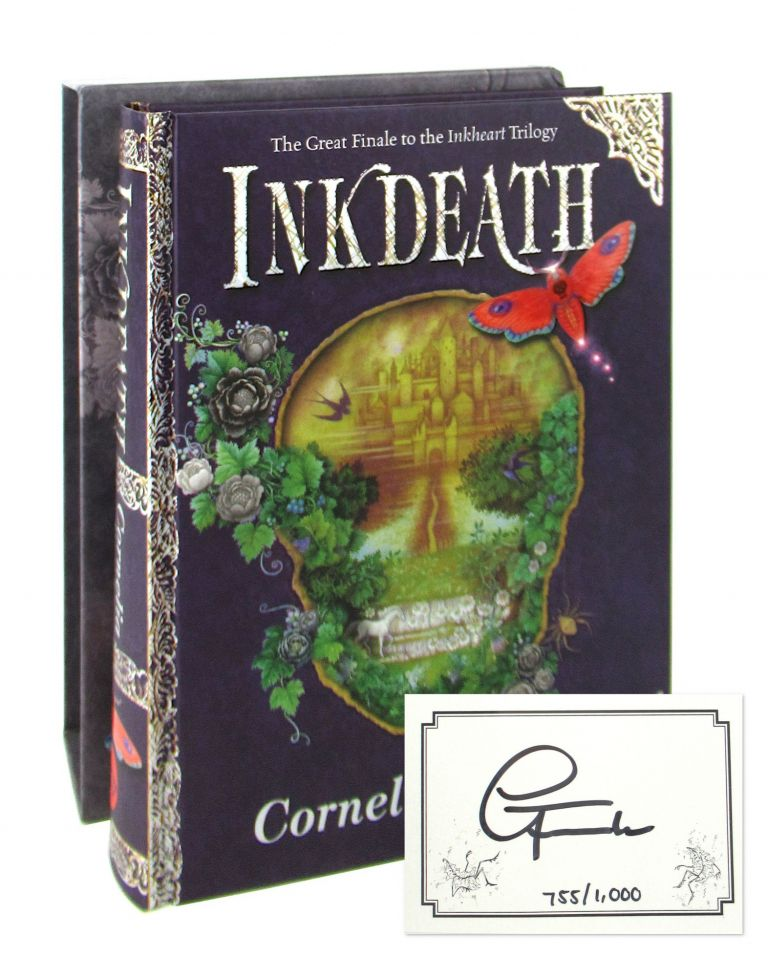 Inkdeath [Signed Limited Edition]. Cornelia Funke, Anthea Bell, trans.