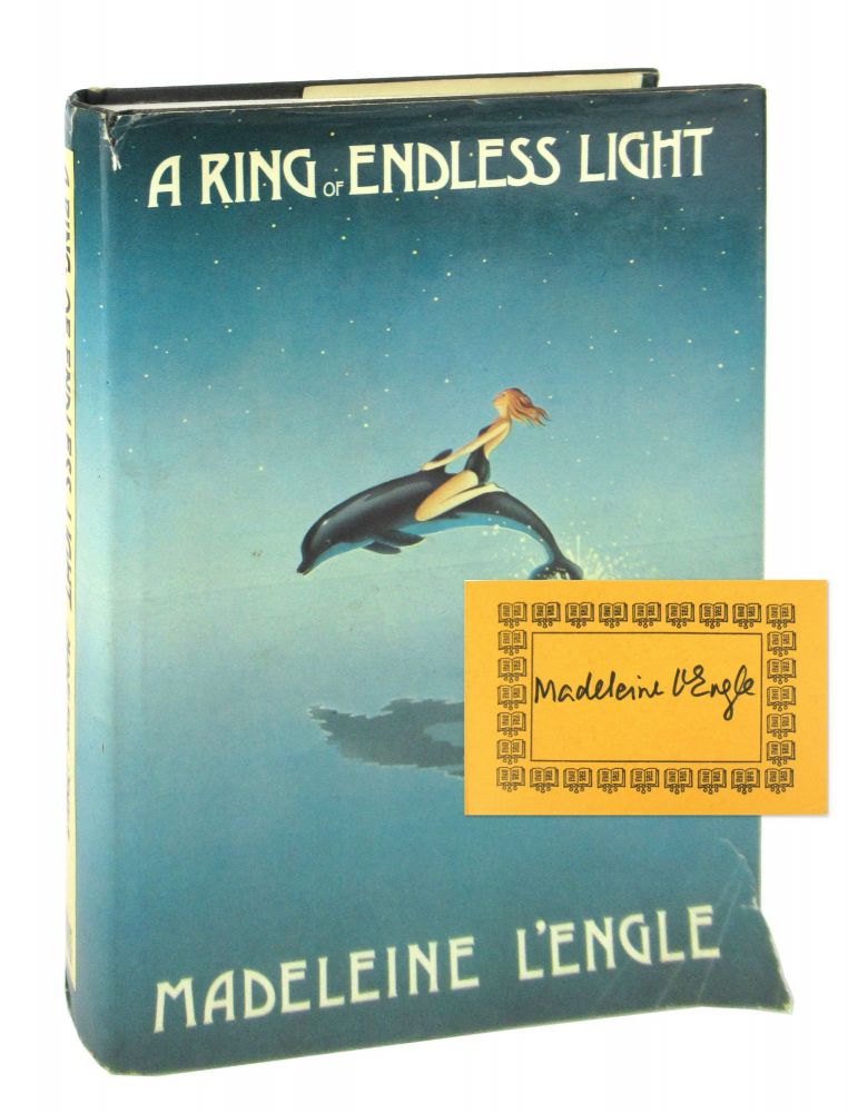 A Ring of Endless Light [Signed Bookplate Laid in]. Madeleine L'Engle.