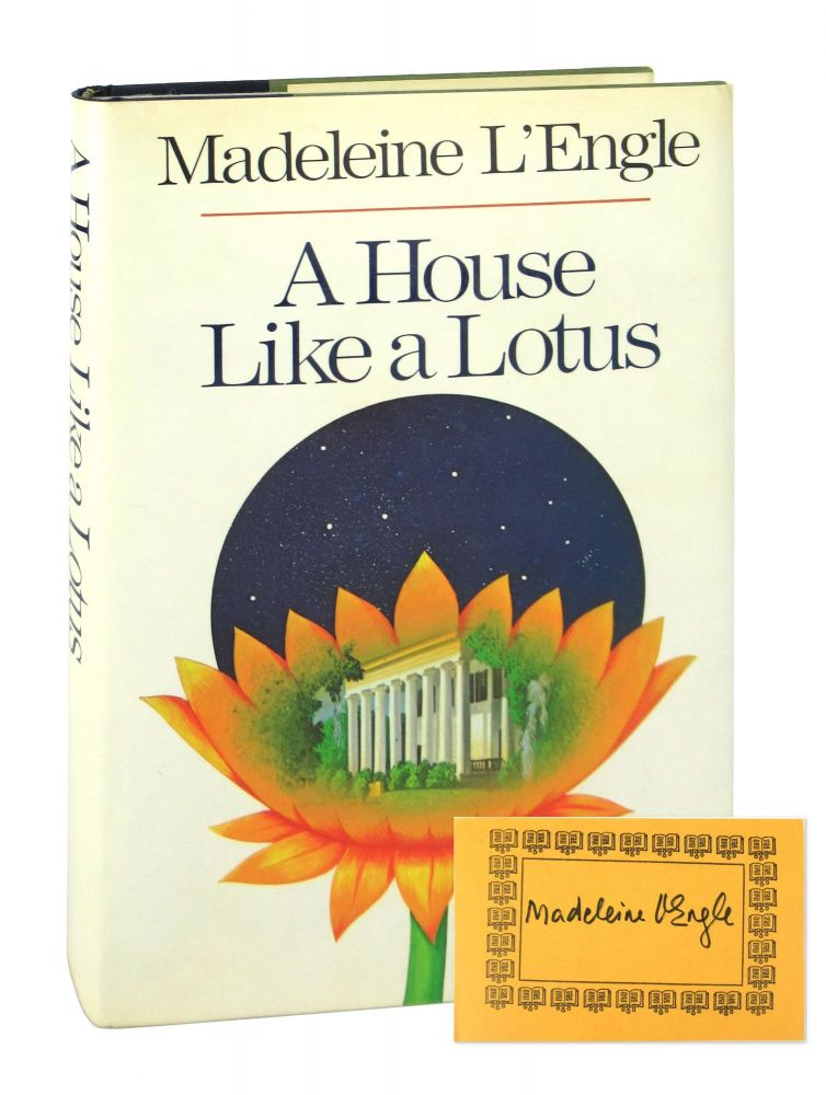 A House Like A Lotus [Signed Bookplate Laid in]. Madeleine L'Engle.