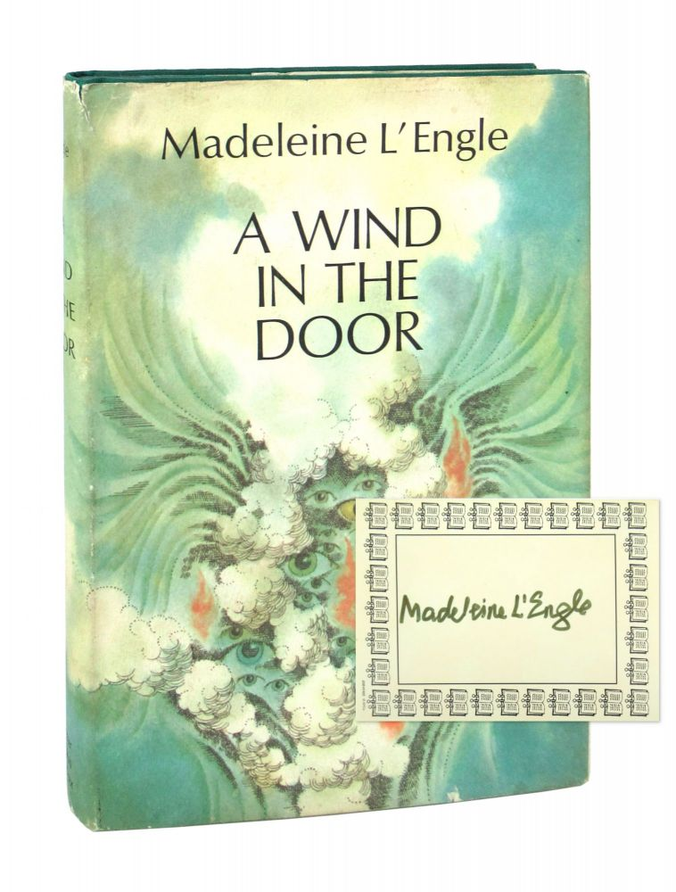 A Wind in the Door [Signed Bookplate Laid in]. Madeleine L'Engle.