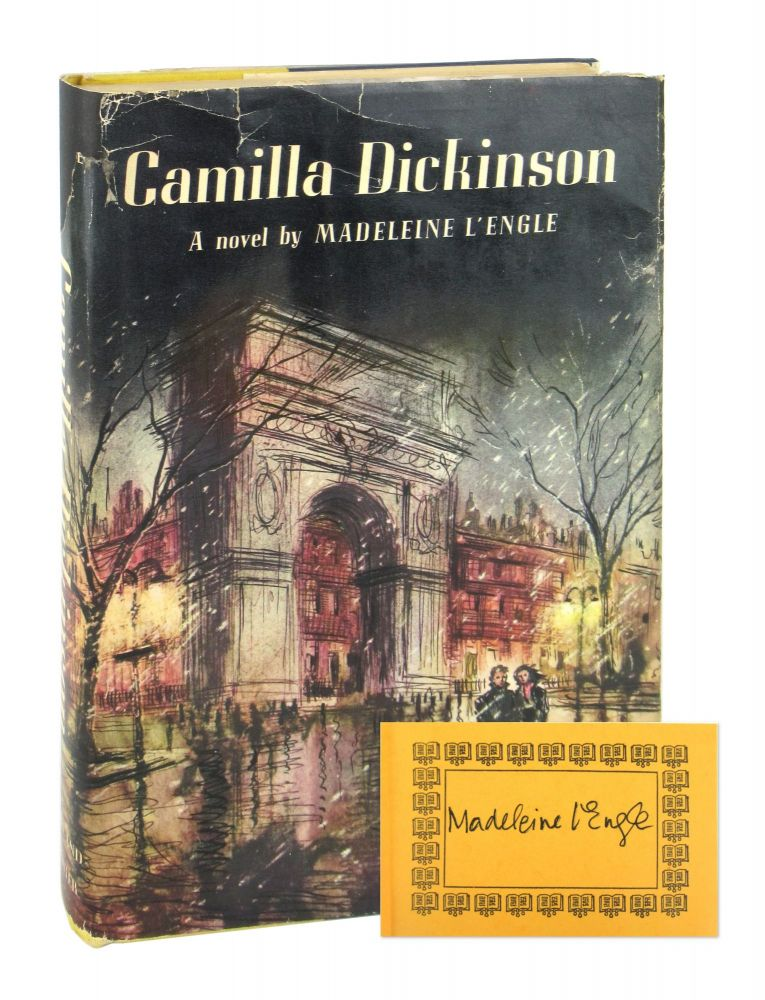 Camilla Dickinson [Signed Bookplate Laid in]. Madeleine L'Engle.