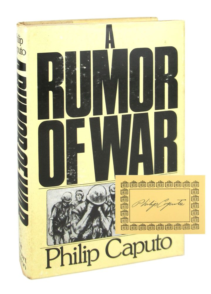 A Rumor of War [Signed Bookplate Laid in; Book Club Edition]. Philip Caputo.