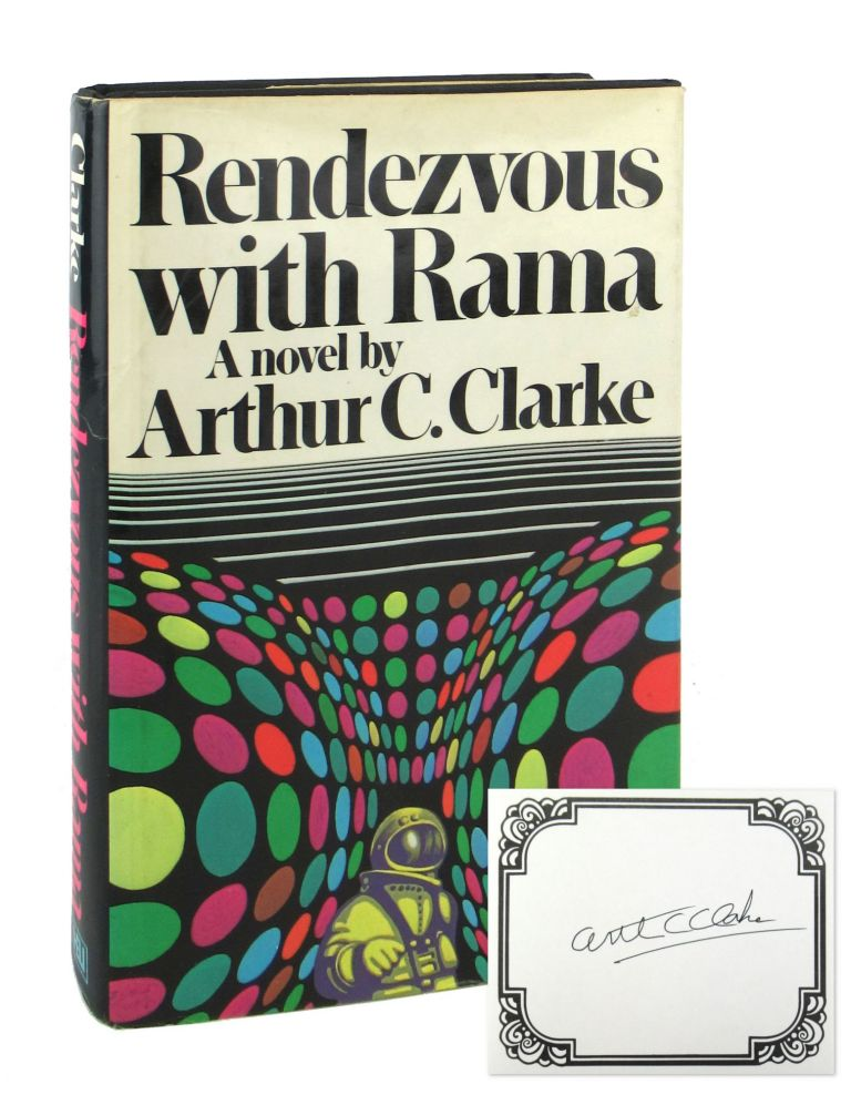 Rendezvous with Rama [Signed Bookplate Laid in]. Arthur C. Clarke.